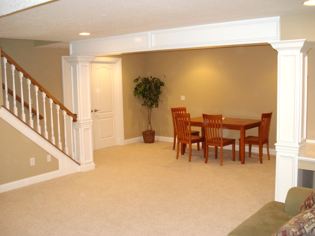 Basement remodeling Ideas for a small basement